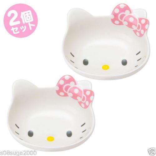 Hello kitty Small bowl 2 pieces set Japanese Kobachi SANRIO from JAPAN