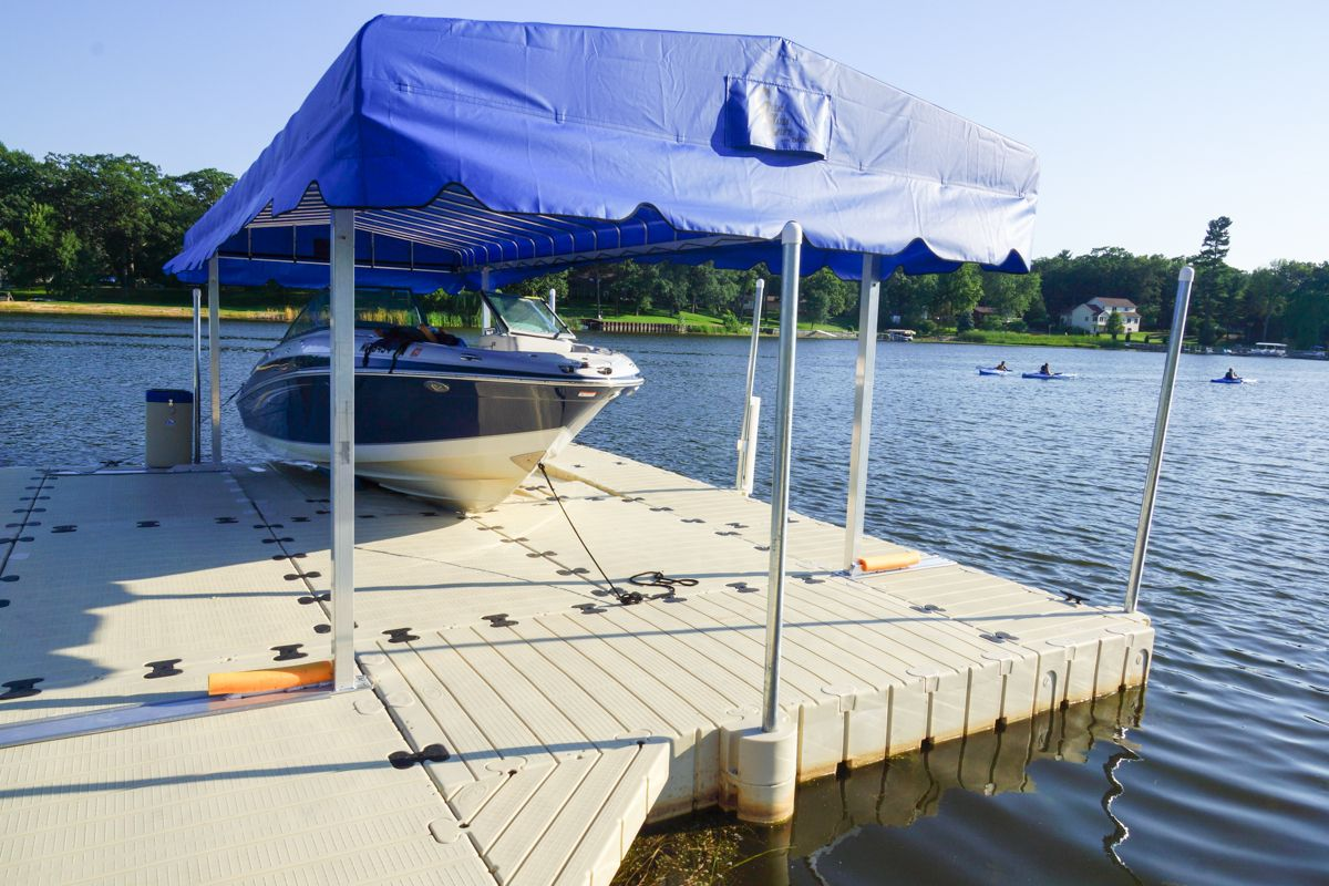 Ez Dock Boat Dock With Canopy We Sell Install And