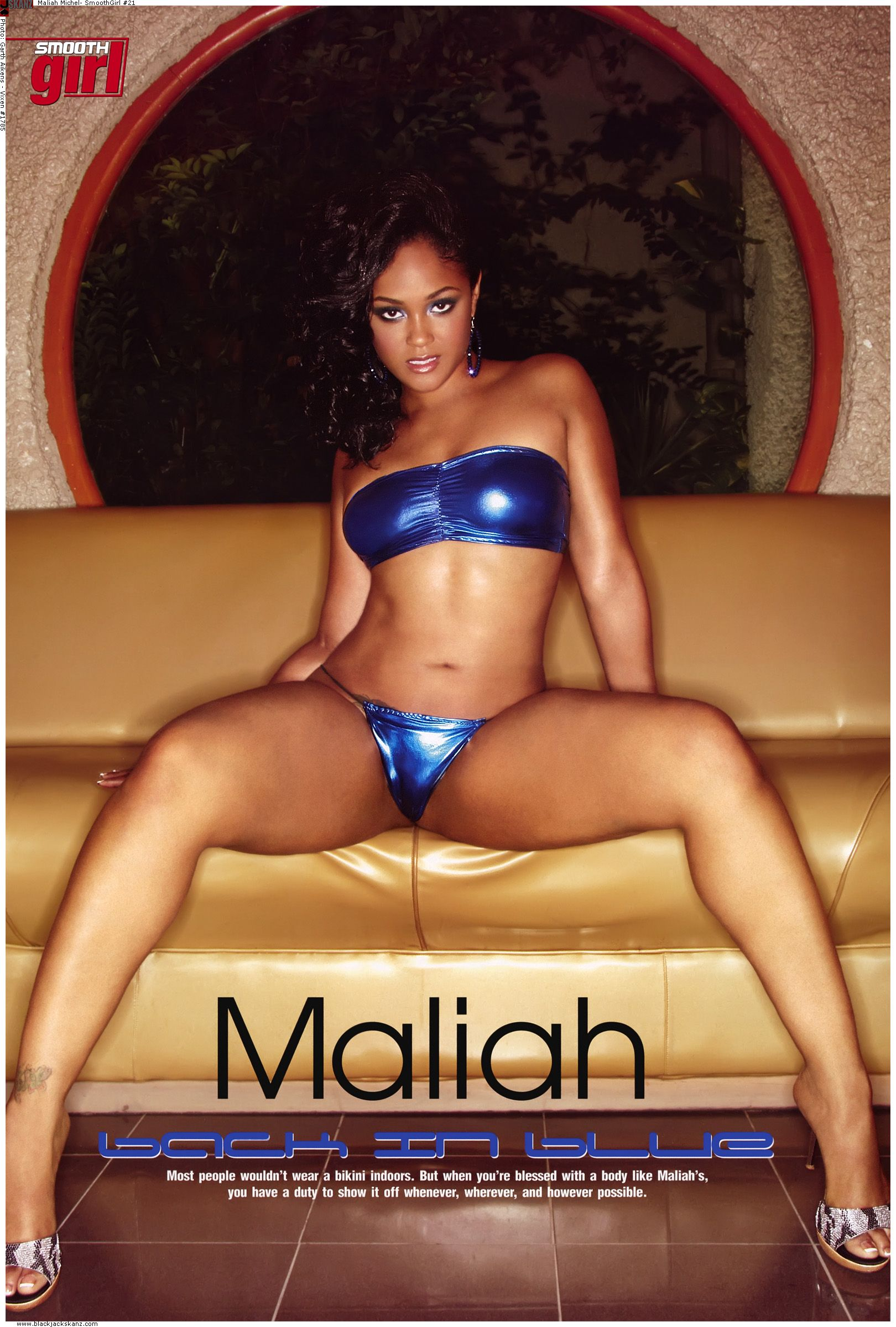 maliah Black michel magazine men