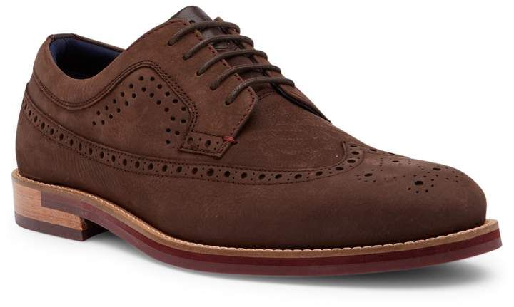 f3877d806f34 Ted Baker London Fanngo Nubuck Wingtip Derby