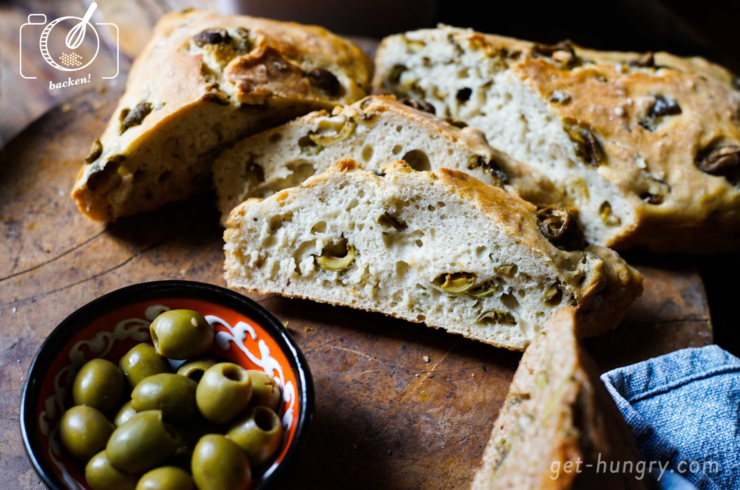 Photo of The easiest olive bread in the world – get hungry!