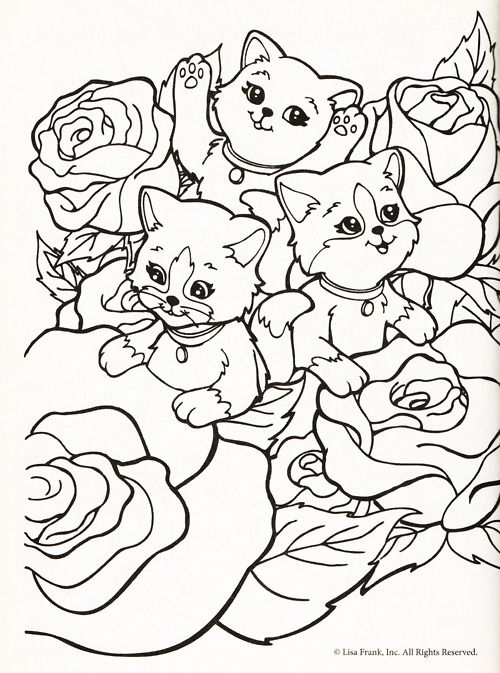 Lisa Frank Coloring Page | Coloring Pages of Epicness | Pinterest ...