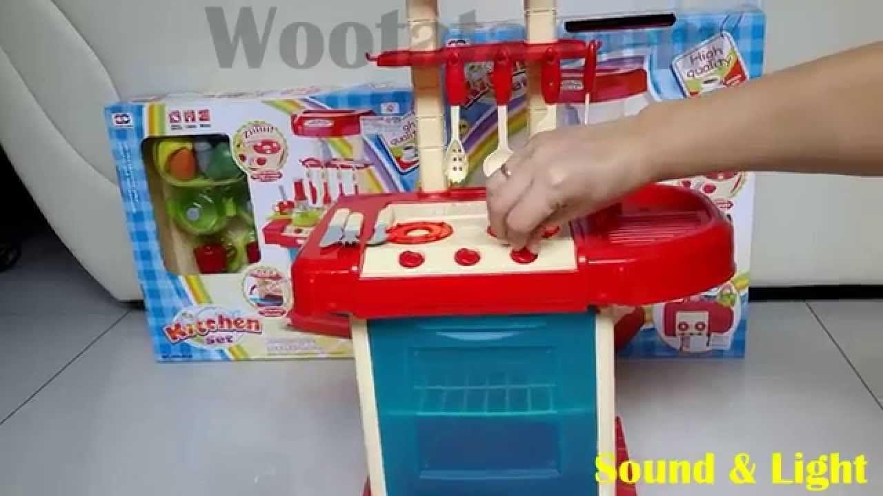 Mainan Dapur Anak Paling Bagus Kitchen Set Biru