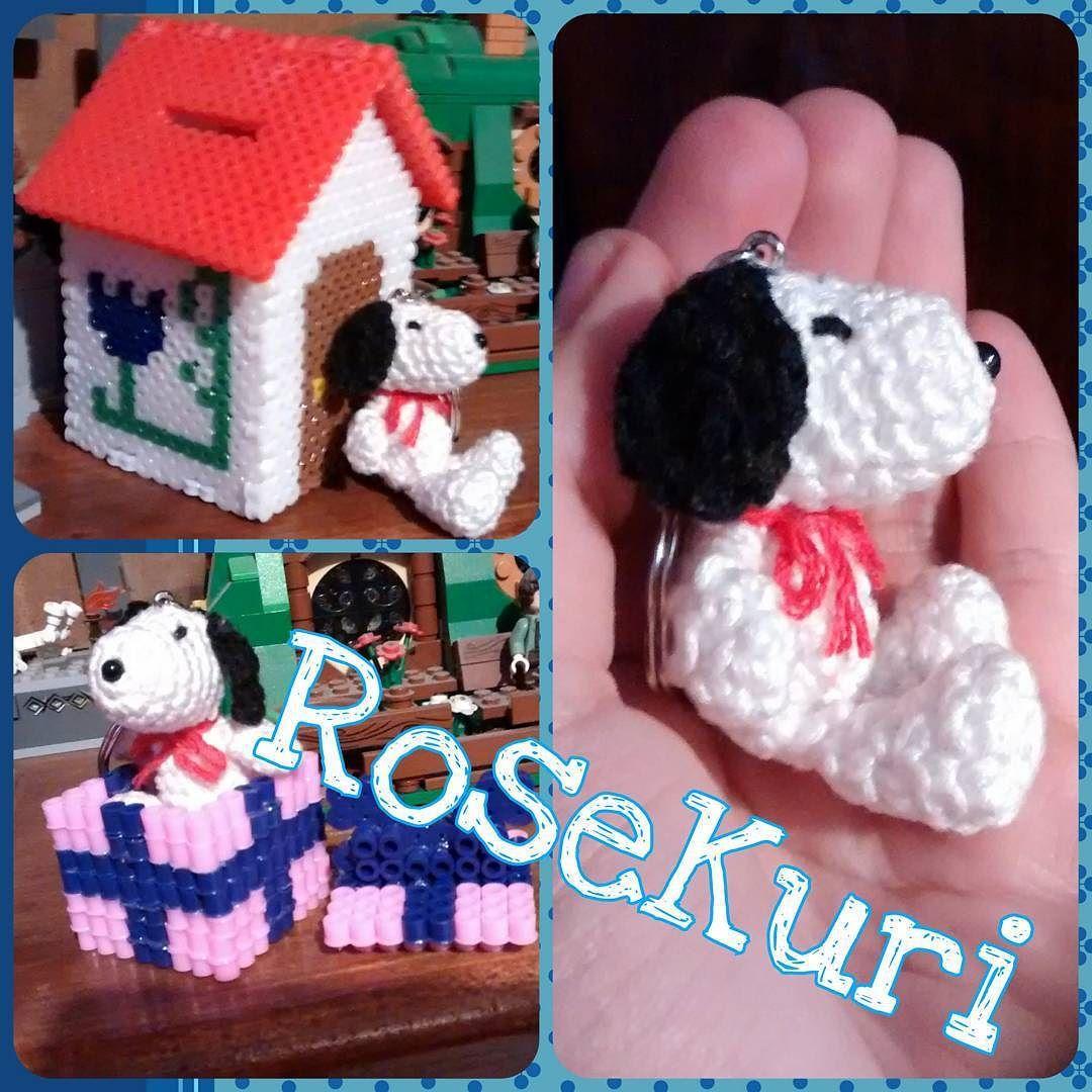 By kurirose: #Snoopy #Crochet #Amigurumi #Tejido #Hilaza #CottonYarn ...