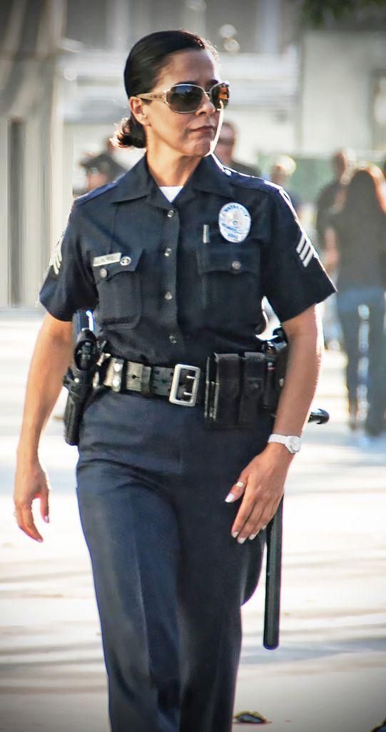 Nude female law enforcement officers, adult bikini waxing