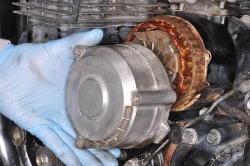 honda motorcycle alternator wiring honda cb650 alternator removal | honda cb550sc cb650sc ...