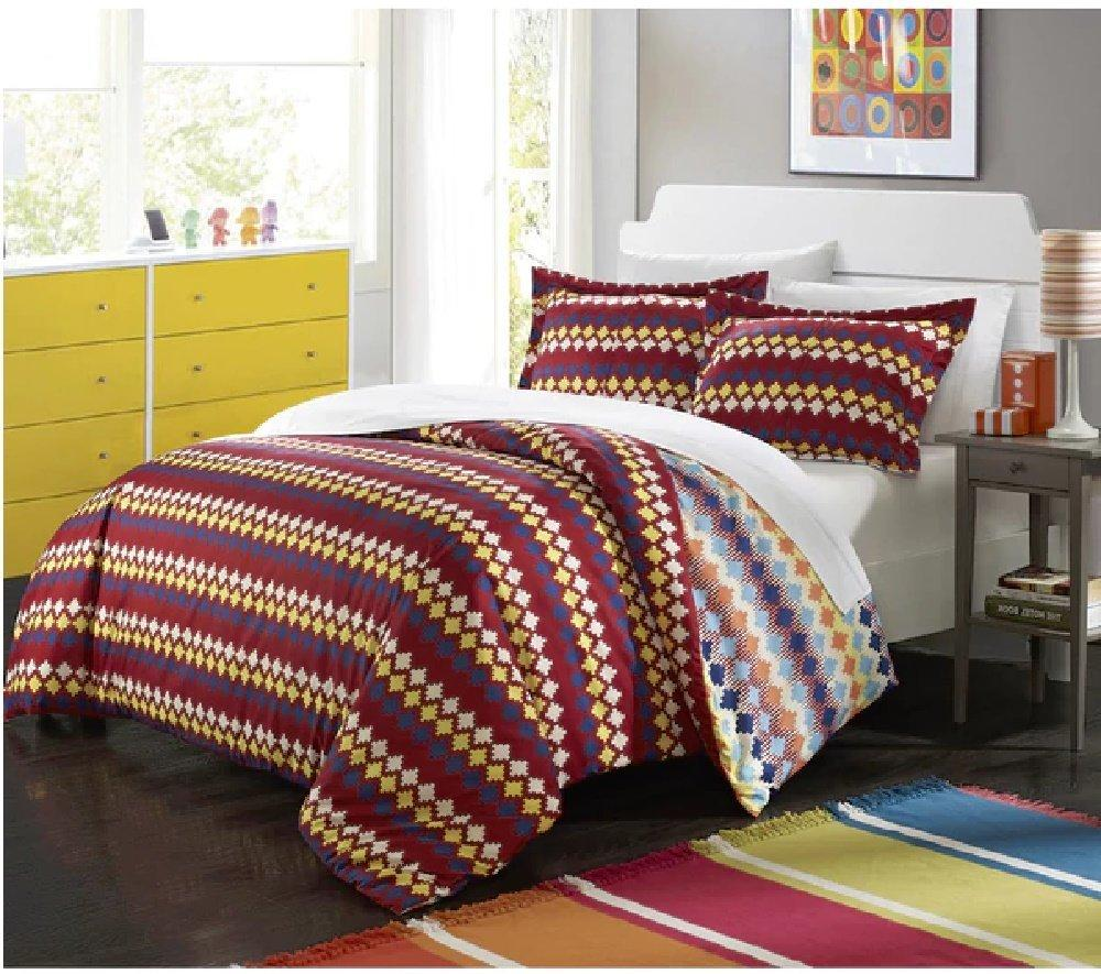 american blue fgh set cvb urban geometric duvet native hippie denim quilt orange cotton and modern stripe boho multicolor cover tribal queen white bedding pattern bohemian aztec print sets