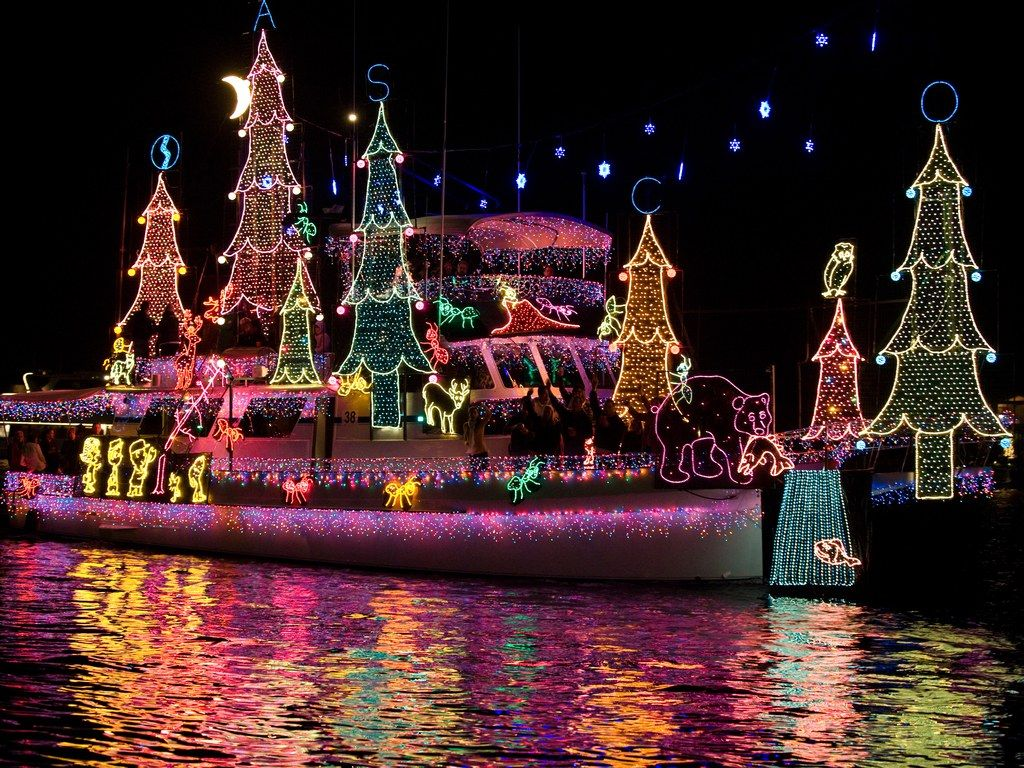the newport beach christmas boat parade is one of the longest running holiday festivals in the entire country celebrating its 109th anniversary this year - Newport Beach Christmas Boat Parade