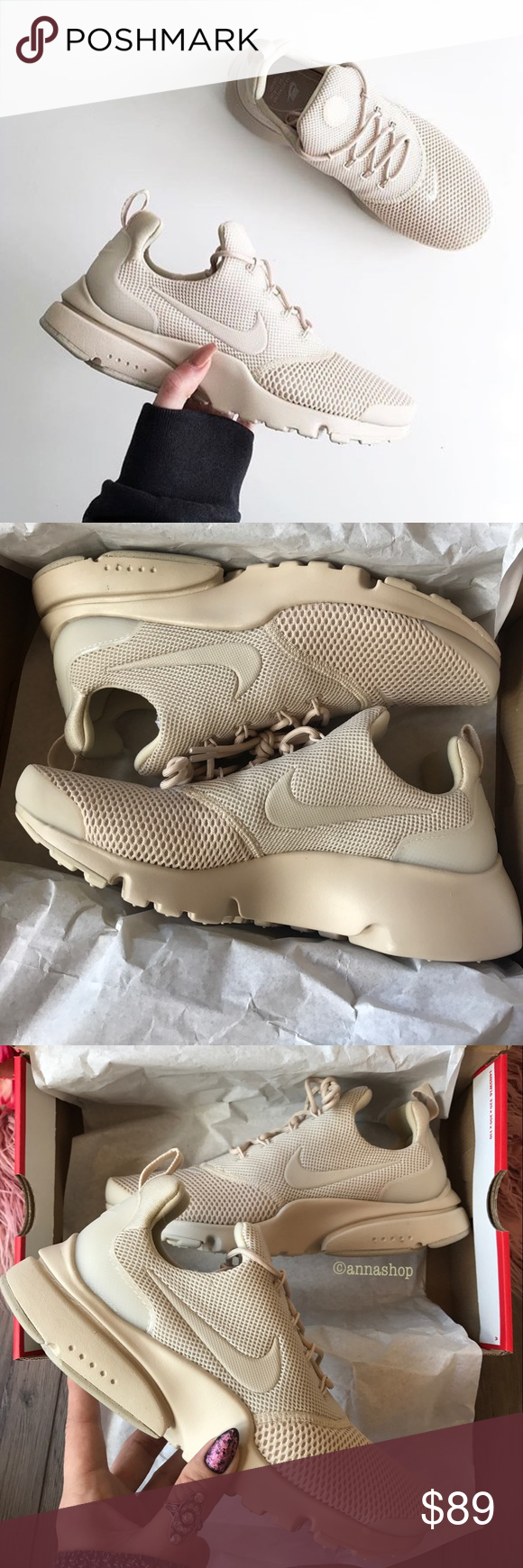 timeless design e63bc 81f9a NWT Nike Presto fly Oatmeal 🍪 Brand new with box, price is ...