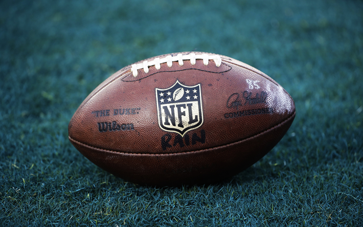 Download Wallpapers American Football Ball Nfl National Football League Usa Wilson Ball Sports E Football Wallpaper National Football League Football Ball