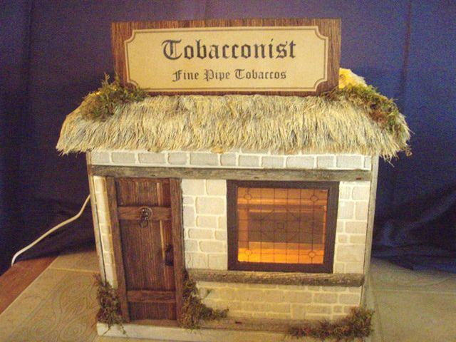 Ways to Make Scale Miniature Thatched Roofs: Surprisingly Realistic Thatched Roofs From Faux Fur