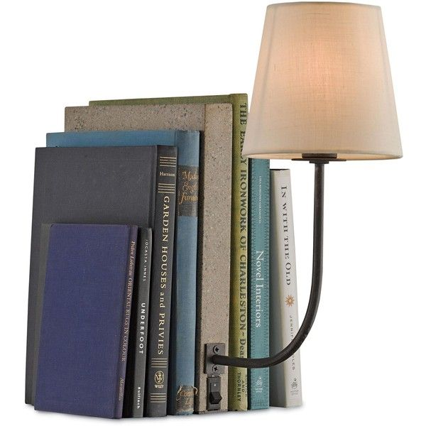 Biblio Modern Classic Concrete Book Shelf Table Lamp ($690) ❤ liked on Polyvore featuring home, lighting, table lamps, concrete lamp, round lights, soft white lights, ivory lamp and alabaster lamp
