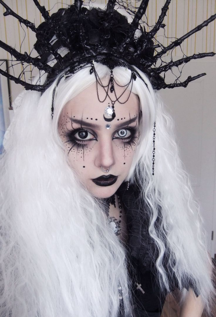 halloween make up heks