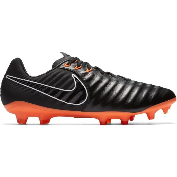 Nike Tiempo Legend Vii Pro Fg Mens Football Boots Black Total Orange White Football Boots Mens Football Boots Kids Football Boots