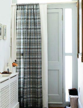 Door Curtain Stylish Doors Stylish Curtains Home Insulation