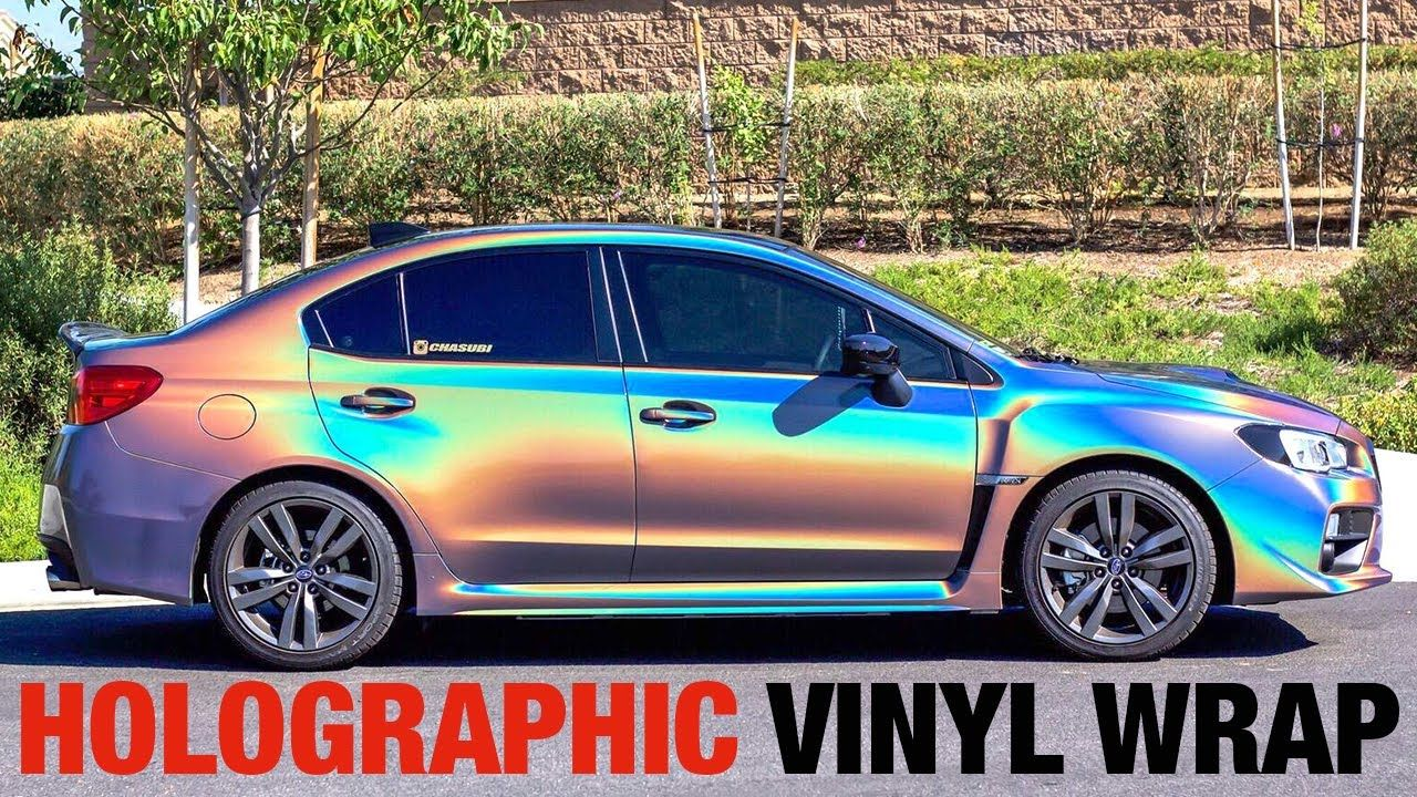 cool CRAZY HOLOGRAPHIC Car Wrap Ft  Chasubi! (3M PSYCHEDELIC