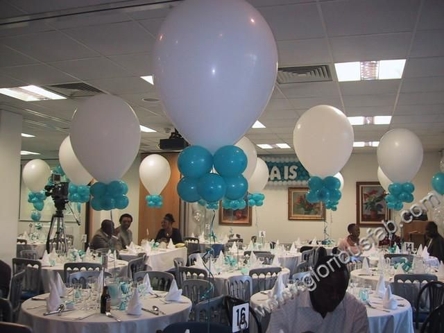 40th Birthday Centerpieces Party Table Decorations