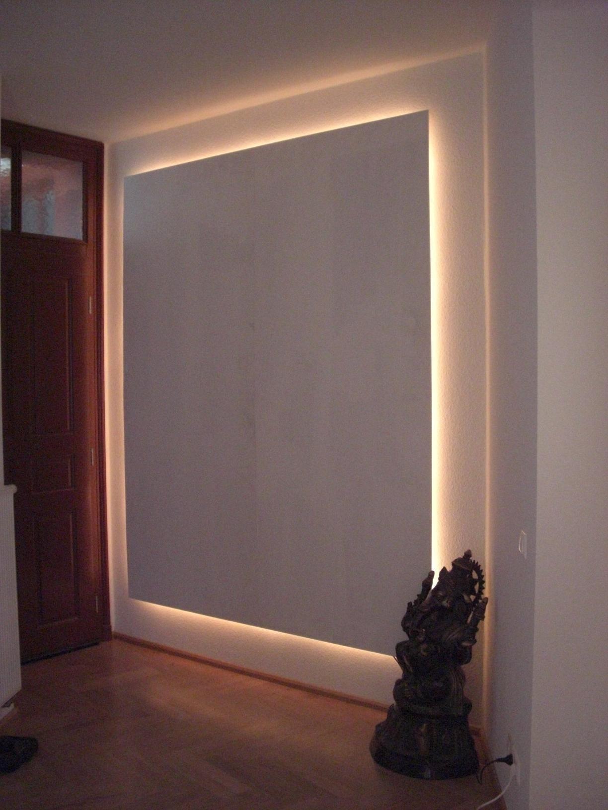 Galerie Kategorie indirekte beleuchtung mit mustertapete