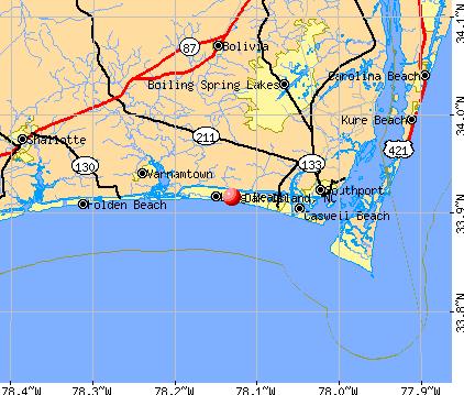 Oak Island North Carolina (NC 28465) profile: population ...