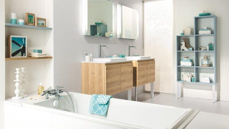 Salle de bains moderne sur mesure - Schmidt Petite sdb Pinterest