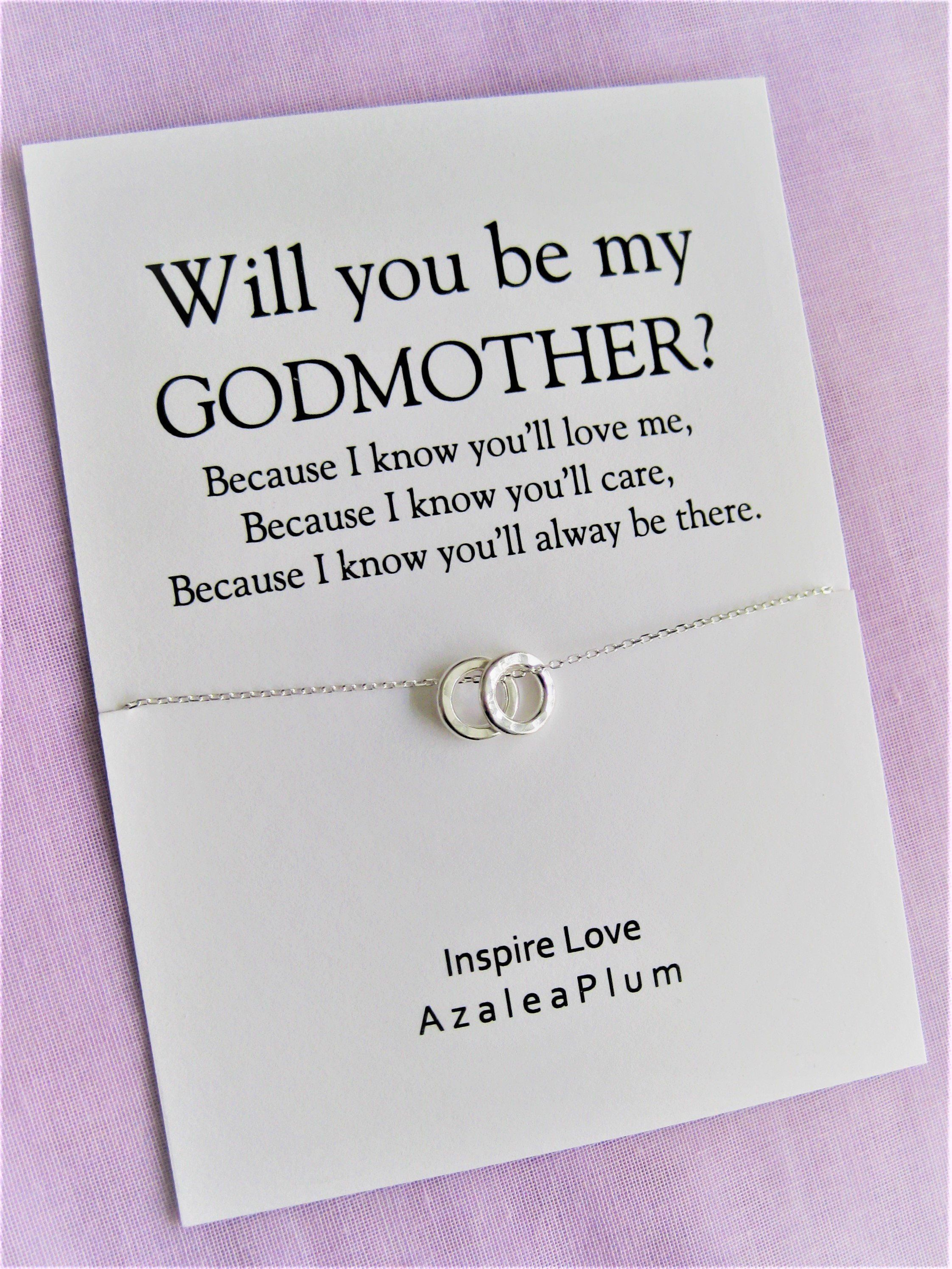 Godmother Gift Necklace Godmother Gift Godmother Godmother