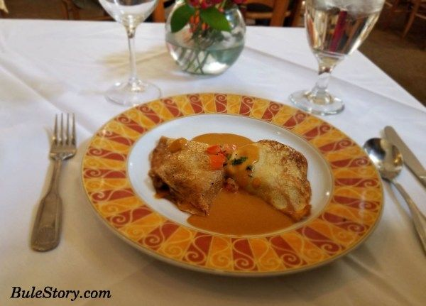 Le Ferme French Restaurant Chevy Chase Maryland Bule