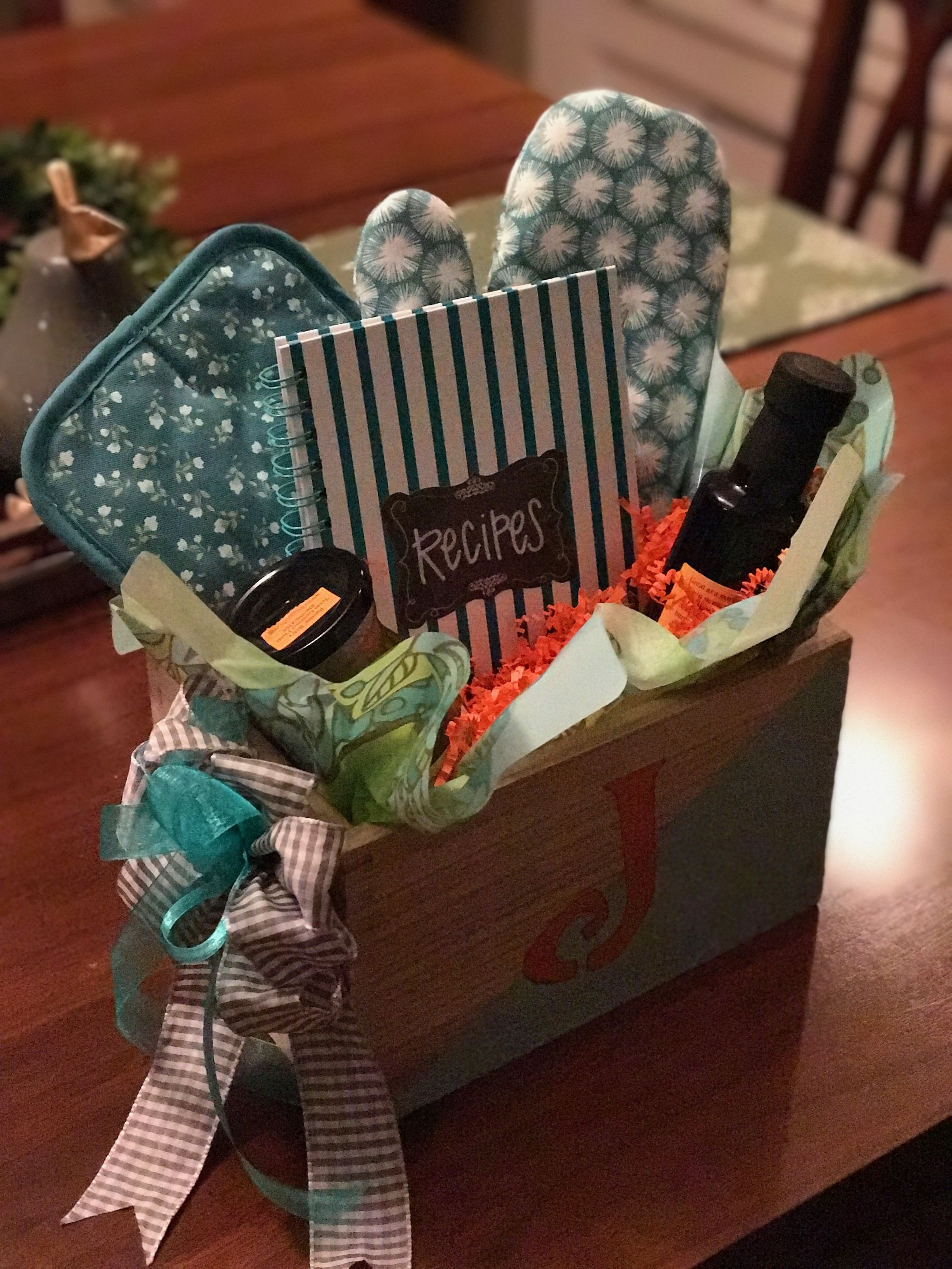 Cooking Themed Gift Basket Ideas