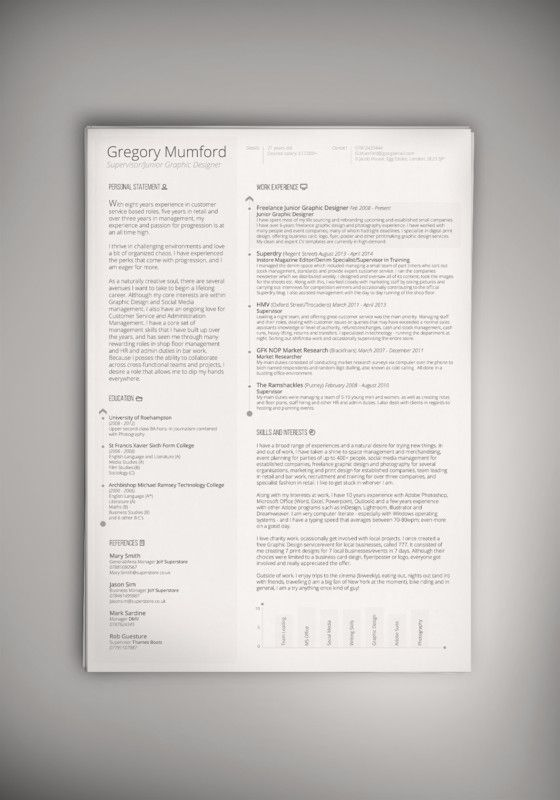 10+ Executive Resume Template Word, PSD, InDesign Format resume