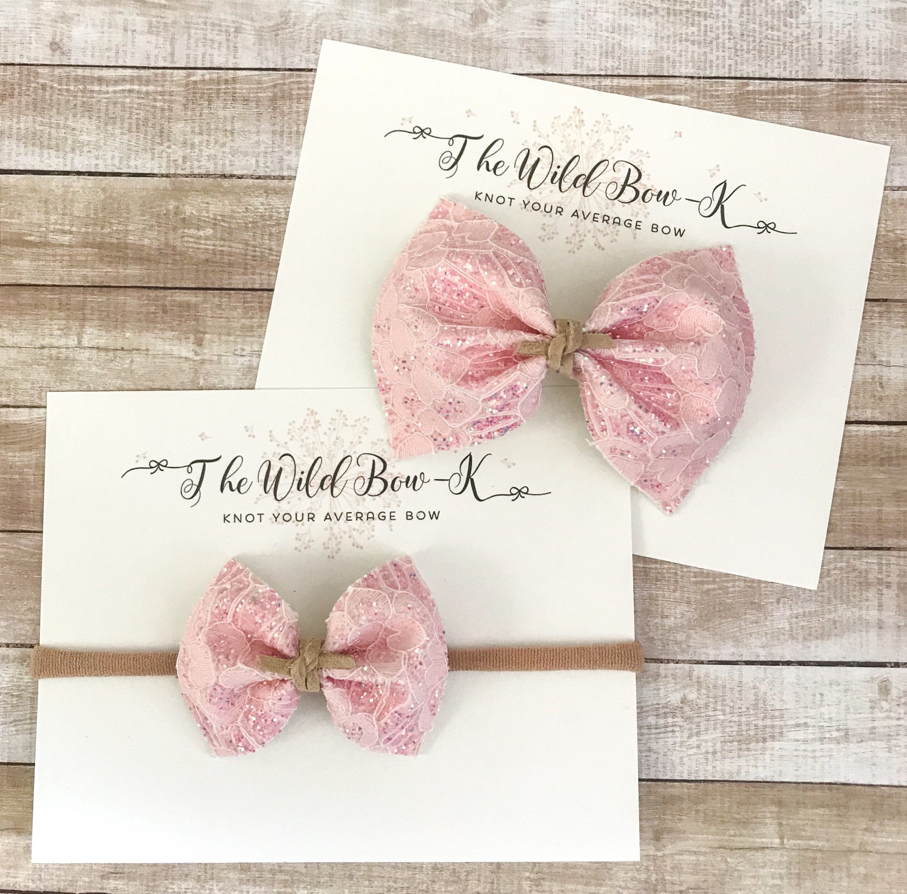choose your color pinch bow baby-girl bow headband Pinch bow headband pinch bow headband newborn headband pastel pink bow headband