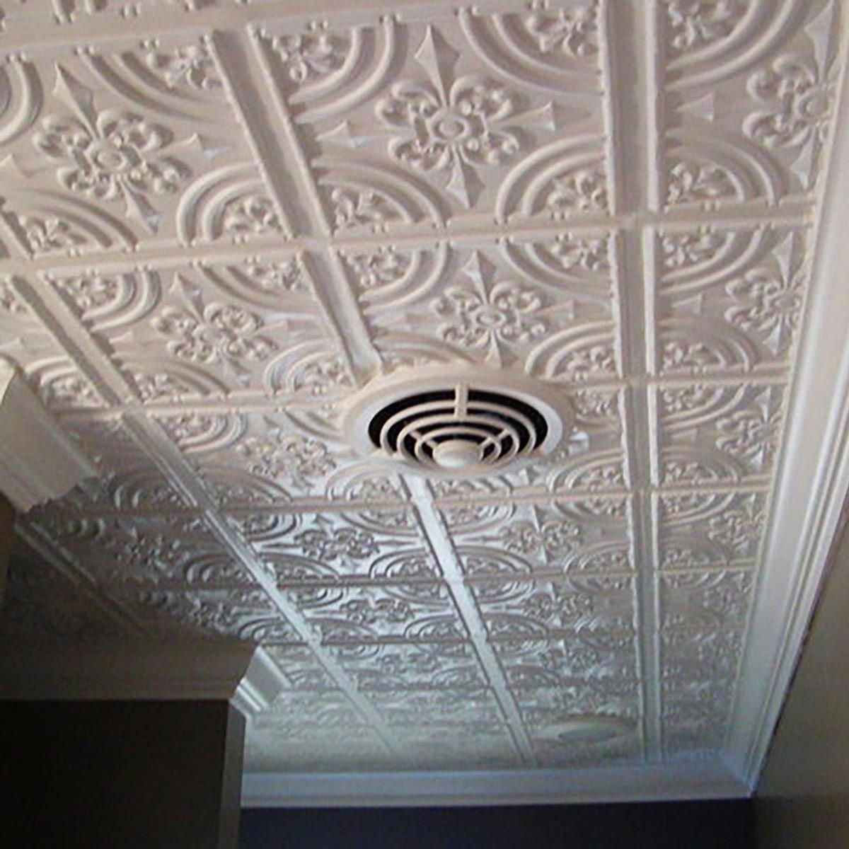 how to cut ceiling tiles for drop ceiling