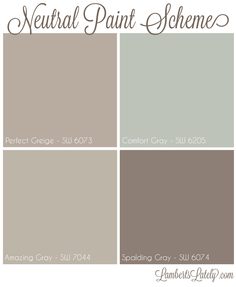 Perfect Greige By Sherwin Williams Neutral Light Tan With: Our Forever Home: Living Area And Kitchen Planning Preview