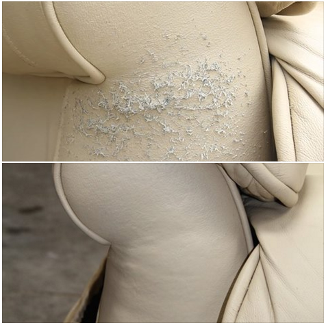 how to repair a leather sofa from cat scratches sectional with lights did you know can easily those on your