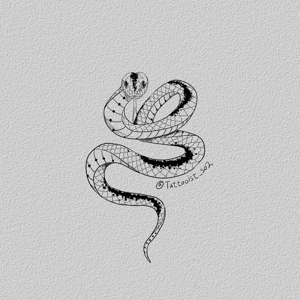 "@tattooist_so2 on Instagram: ""게으른 나자신 반성해,, . . . . .…"" -  #snaketattoo hashtag on Instagram • Photos and Videos  - #atattooist #instagram #snaketattoo #tattooantebrazo #tattooistso2 #watercolortattoo #게으른 #나자신 #반성해"