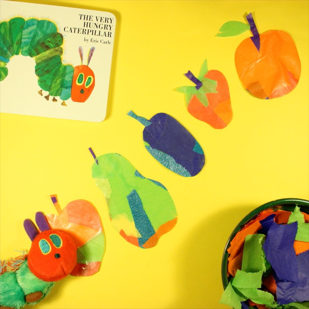 Take inspiration from the fruit the Very Hungry Caterpillar munches ...
