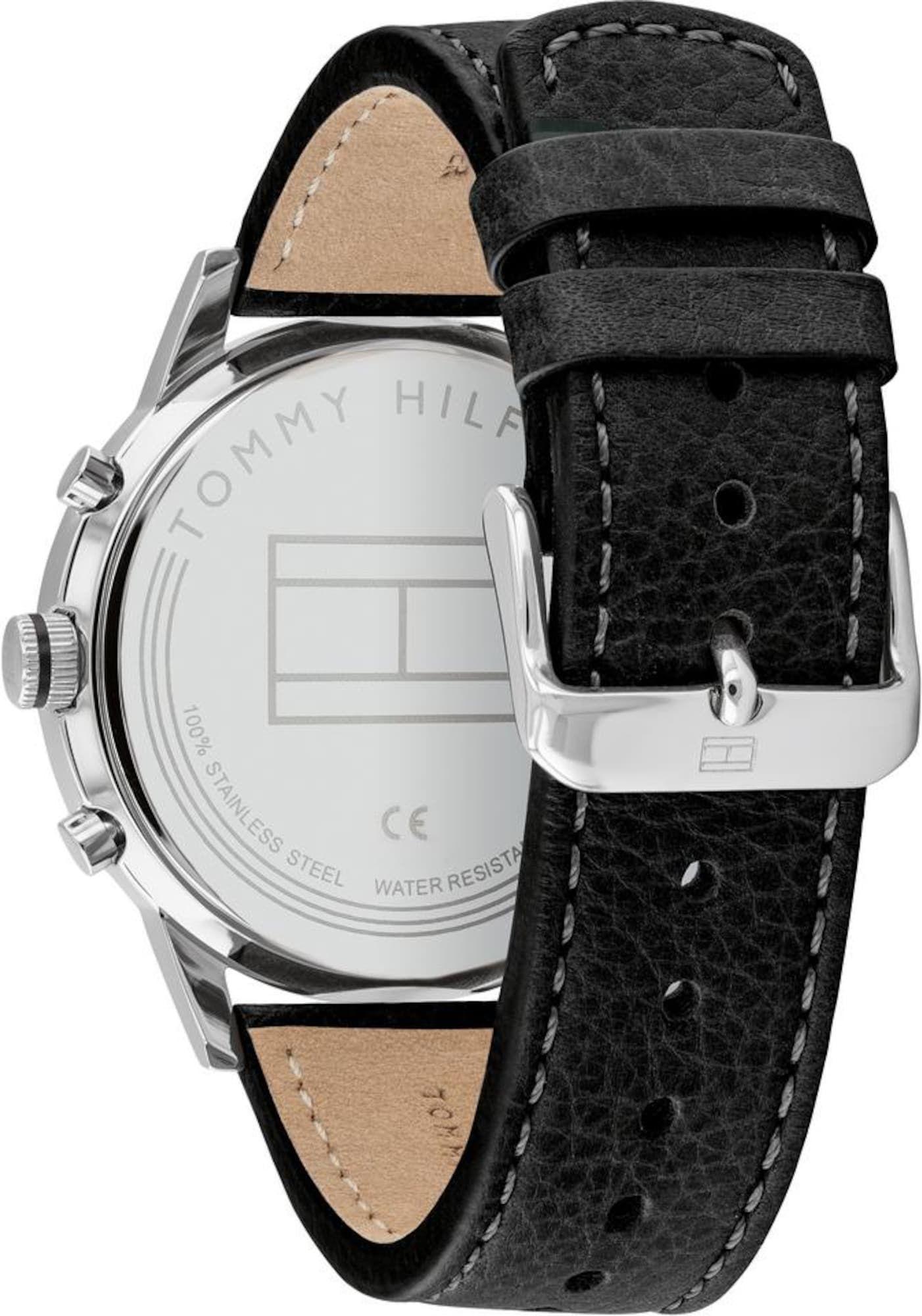 Tommy Hilfiger Uhr Herren Schwarz Silber Gr E One Size Uhr Uhren Fossil Uhr Damenuhren Daniel Wellington Uhr Her In 2020 Leather Watch Tommy Hilfiger Tommy