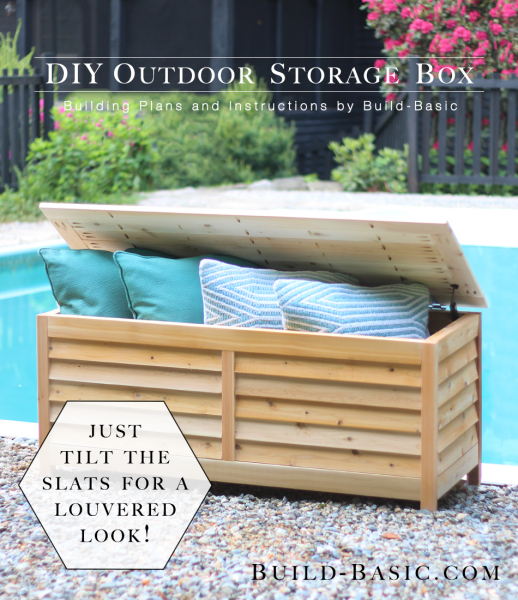 Diy Outdoor Storage Benches Outdoor Storage Outdoor Storage Box
