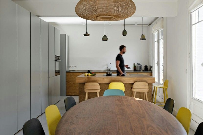 explore paris 2015 modern interior design and more - Single Wall Apartment 2015