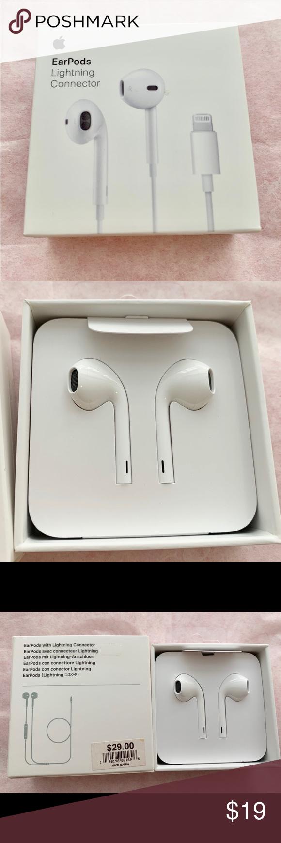 Apple Earpods Earpods Lightning Connector Apple Office Notebooks Journals Apple Office Apple Apple White
