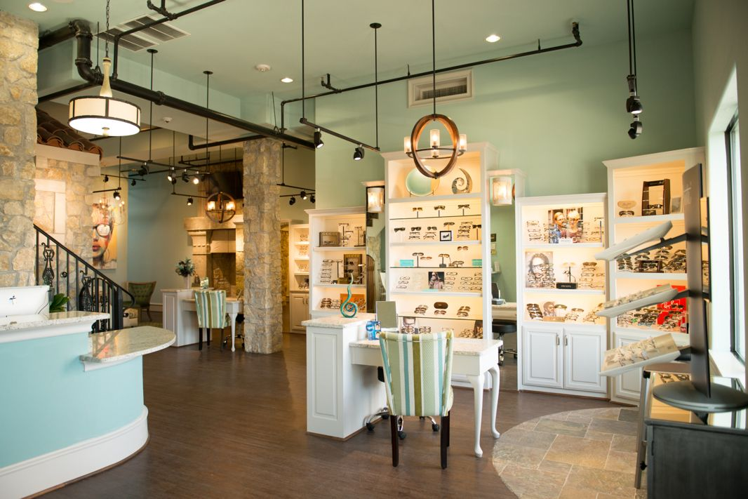 Beautiful optical boutique in Optometry practice. Clean ...