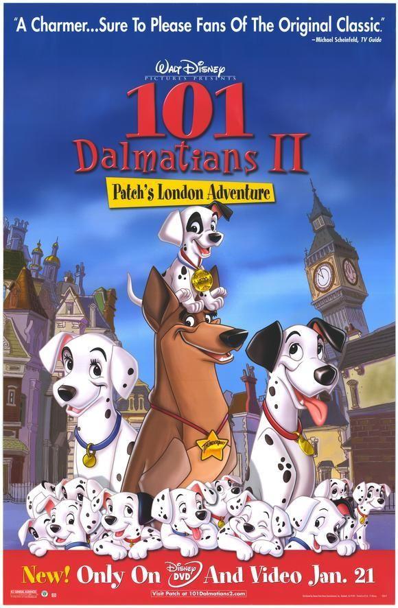 101 Dalmatas 2 Peliculas De Disney Ver Peliculas Gratis Peliculas Cine