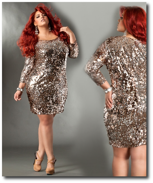 Sequins dresses for plus size | Wedding dress | Pinterest | Size ...