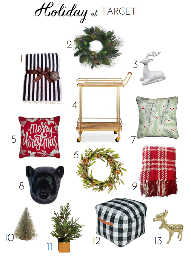 Christmas Decorations At Target | Winter is my favorite. | Pinterest