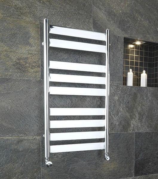 Sèche-serviettes électrique   vertical   en métal   mural SKY, ref - puissance seche serviette salle de bain