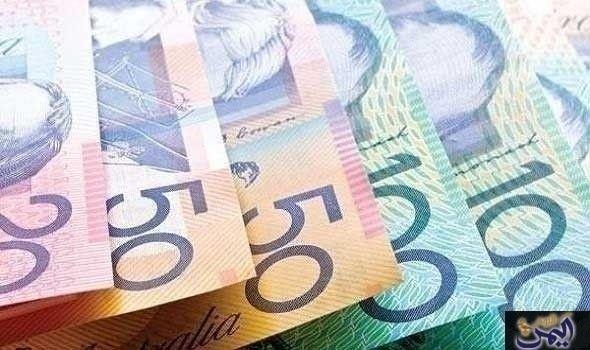 الارتفاع التدريجي للدولار الأسترالي يصل به لأعلى مستوى منذ 9 أسابيع Bank Notes Business Finance Stock Images