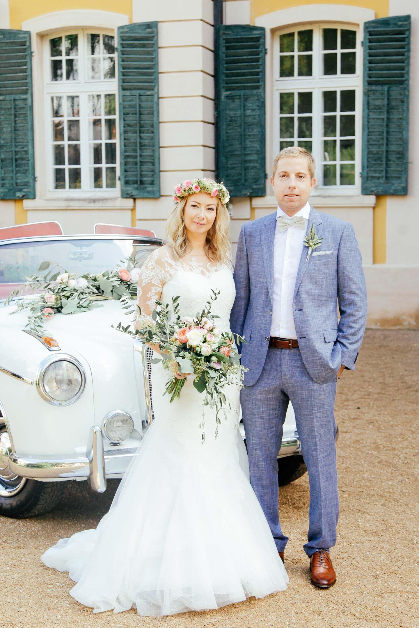 Katharina Andreas Standesamtliche Vintage Hochzeit Real