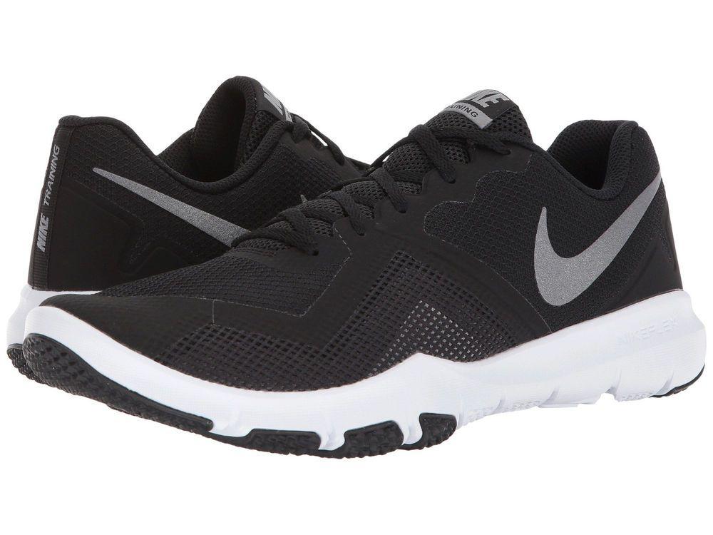 b2a5090ce1a fashion Nike FLEX CONTROL II Mens Black Grey 010 Mesh Lace Up Athletic  Training Shoes
