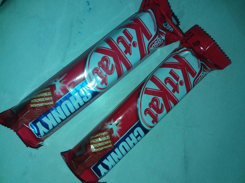KitKat ja é bom; agora com Chunky