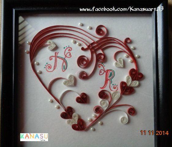 #quilling# #wallframe# #gift# #KanasuArt# visit www.facebook.com/Kanasuart.13