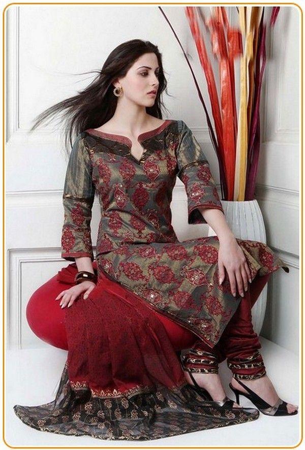 ea39dbc2f New Neck Designs Gala for Salwar Kameez Ladies Suit #BackNeckDesigns  #BlouseBackNeckDesigns