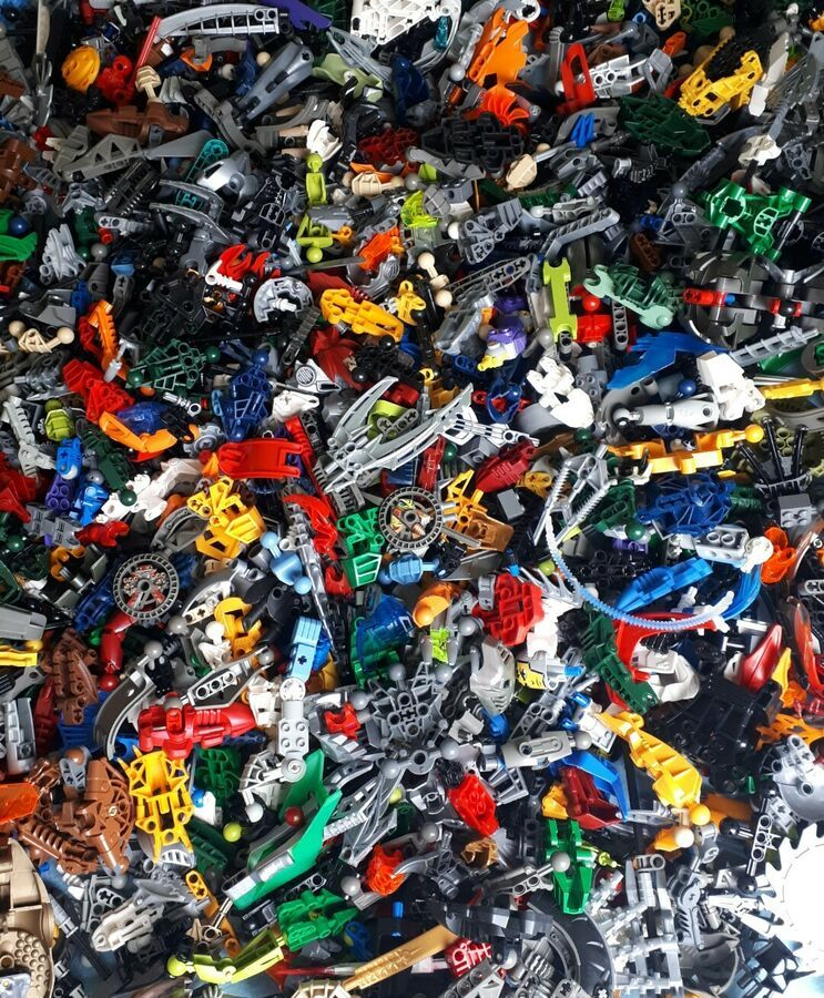 Lego Orange Minifigure Hands x 2 // Spare Parts 1 Pair